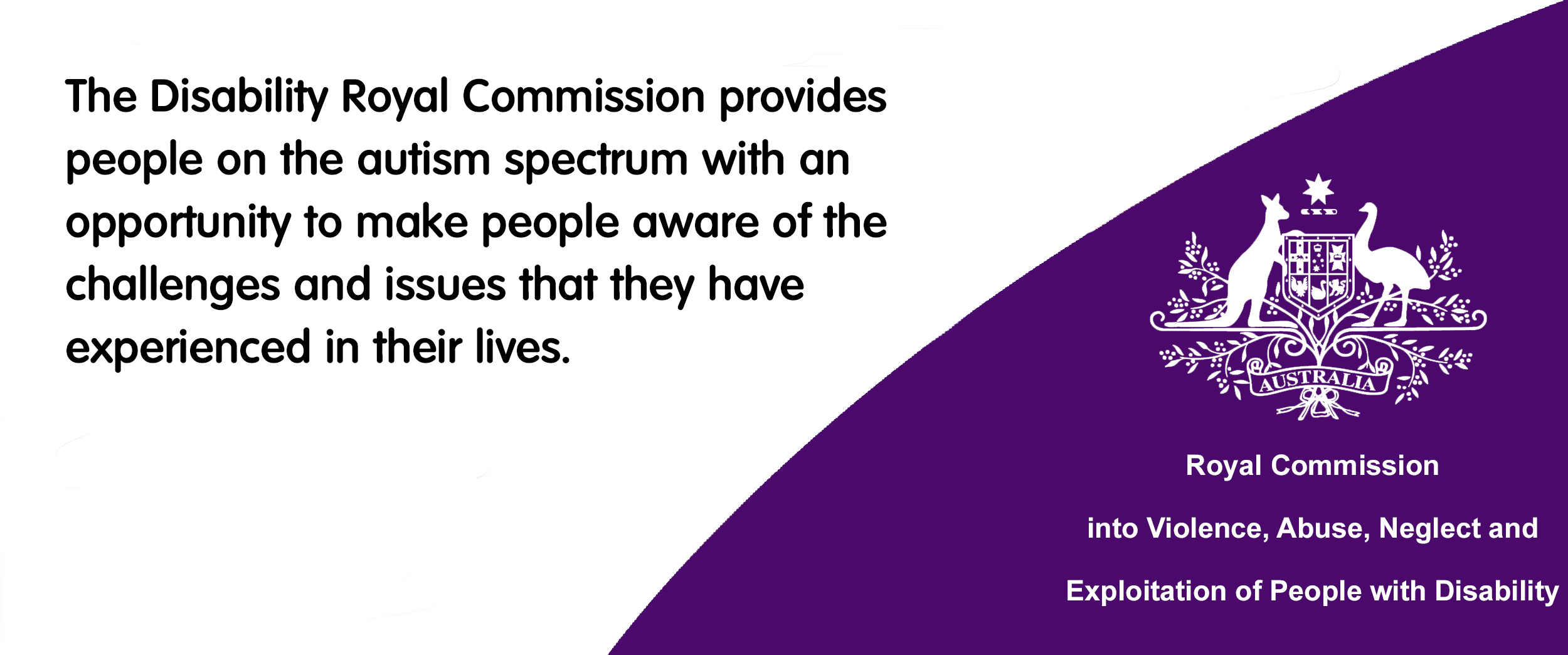 Royal Commission into Violence, Abuse, Neglect and Exploitation of People with a Disability